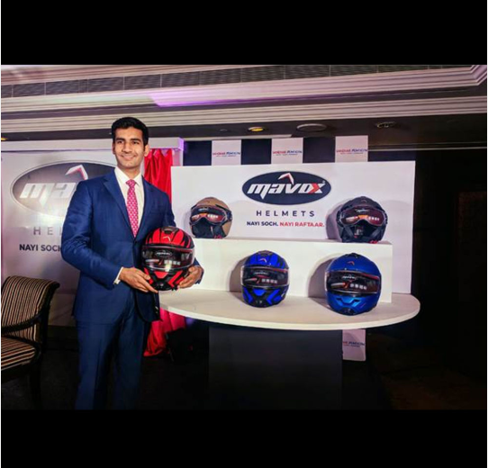 Sandhar Amkin launches two-wheeler helmets in Indian aftermarket