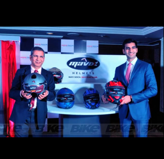 New Mavox Helmet Brand Launched in India