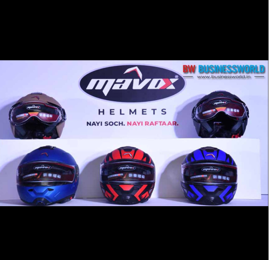 Mavox Helmets Launched in India, Prices Start From Rs 1,485
