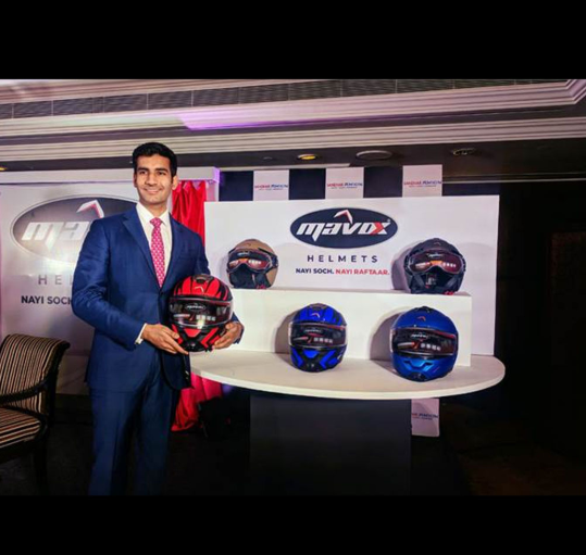 Sandhar Amkin eyes 5% market share in helmet segment by FY'20